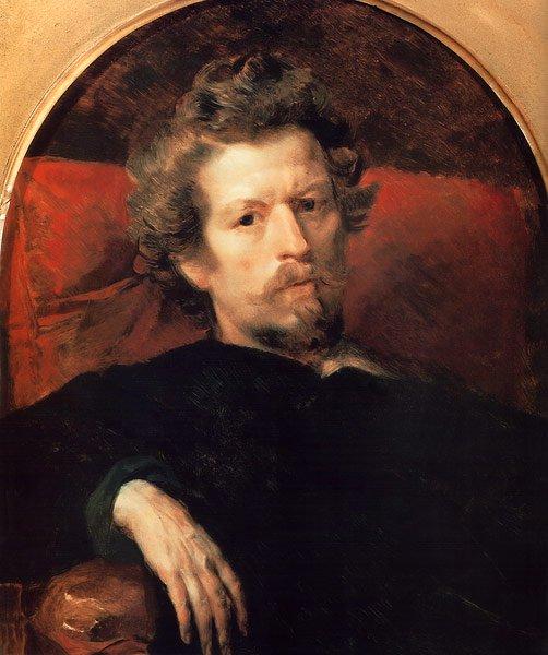 Self Portrait 1848 | Karl Brullov | oil painting