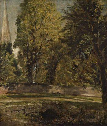 Salisbury | John Constable | oil painting