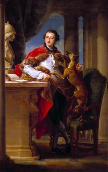 The 7th Earl of Northampton | Pompeo Girolamo Batoni | oil painting