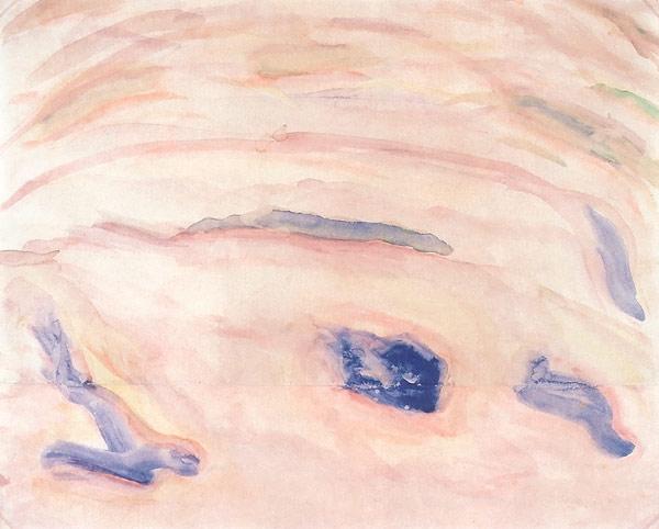 Sea Space 1920 | Mikhail Matyushin | oil painting