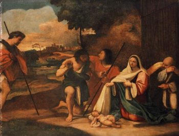 Adoration of the Shepherds | Sebastiano del Piombo (Sebastiano Luciani) | oil painting
