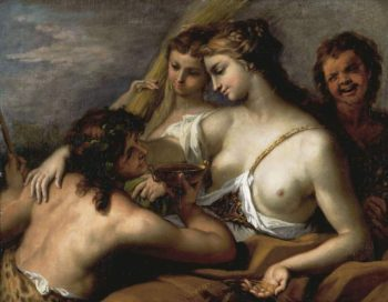 Bacchus and Ceres | Sebastiano Ricci | oil painting