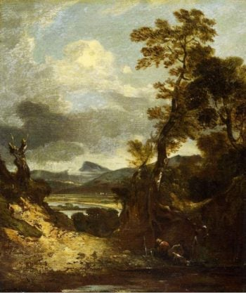 Landscape | Sir George Howland Bt Beaumont | oil painting