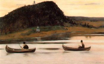Silence 1903 | Mikhail Nesterov | oil painting