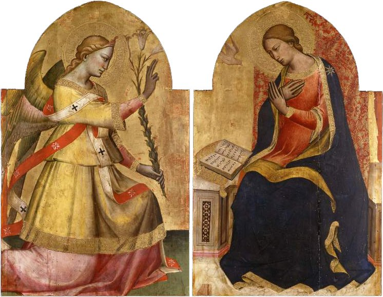 Annunciation | Spinello Aretino | oil painting