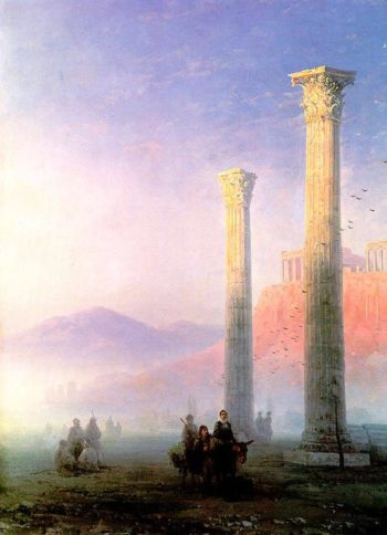 Acropolis of Athens | Ivan Aivazovsky | oil painting