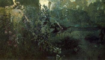 Morning | Mikhail Vrubel | oil painting