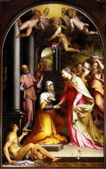 The Visitation | Tommaso Manzuoli | oil painting