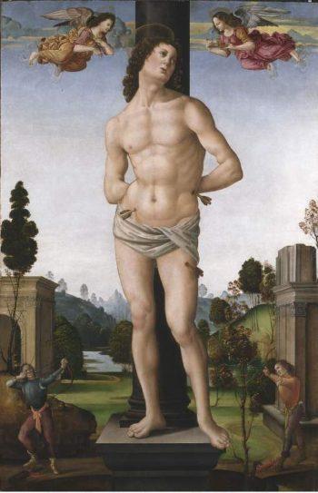 Martyrdom of St Sebastian   Tommaso   oil painting