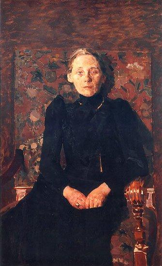 Portrait of M Artsybusheva (unfinished) | Mikhail Vrubel | oil painting