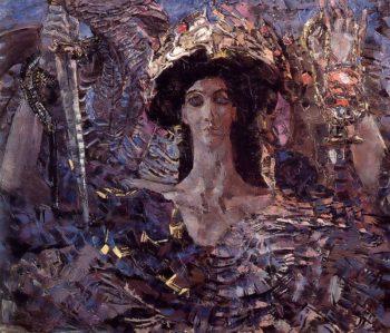 Six Winged Seraph | Mikhail Vrubel | oil painting