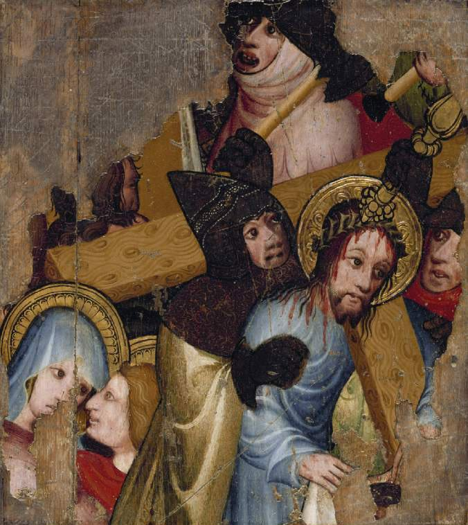 Christ bearing the Cross | Unknown Artist | oil painting