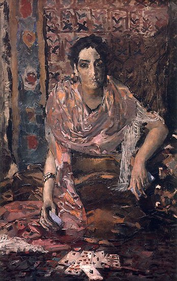 The Fortune Teller | Mikhail Vrubel | oil painting