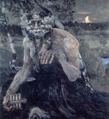 The Pan | Mikhail Vrubel | oil painting