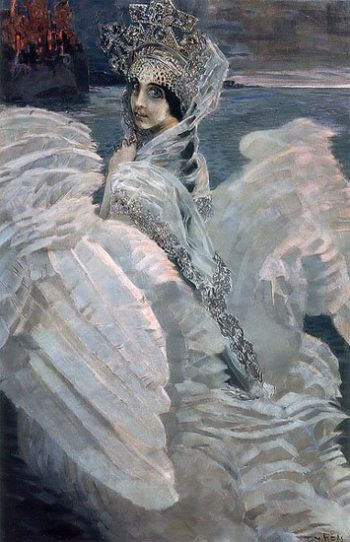 The Swan Princess | Mikhail Vrubel | oil painting