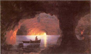 Azure Grotto Naples | Ivan Aivazovsky | oil painting