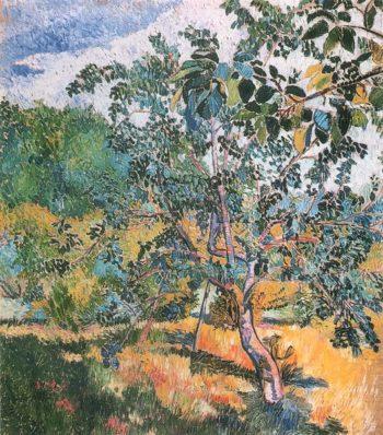 Edge of the Garden 1906 | Natalia Goncharova | oil painting