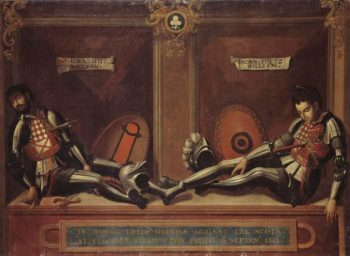 Memorial to Thomas and John Fitzwilliam | Unknown Artist | oil painting
