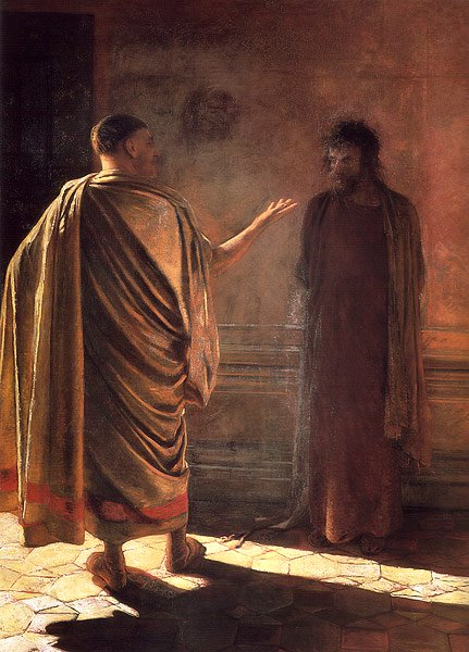 What is Truth 1890 | Nikolay Gay | oil painting