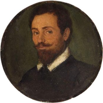 Portrait of a Man   Unknown Artist   oil painting