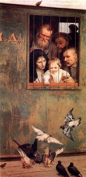Life is Everywhere 1888 | Nikolay Yaroshenko | oil painting