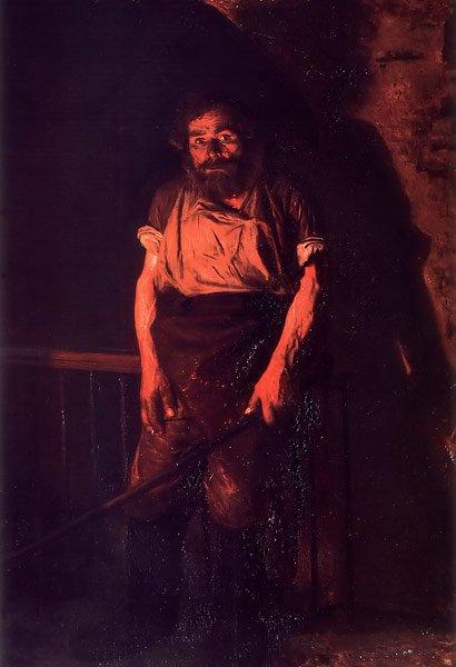 Stoker 1878 | Nikolay Yaroshenko | oil painting