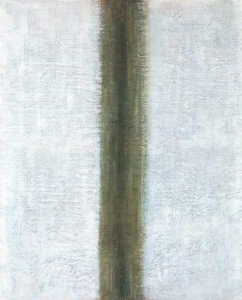 Green Line 1917 | Olga Rozanova | oil painting