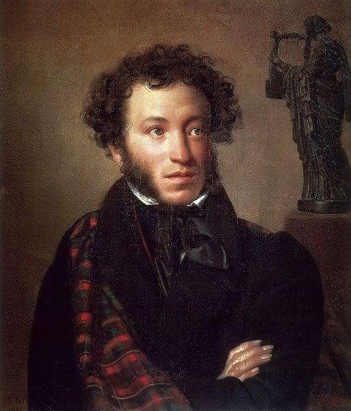 Portrait of Alexander Pushkin 1827 | Orest Kiprensky | oil painting