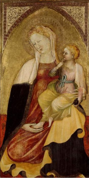 Virgin and Child | Unknown Artist | oil painting