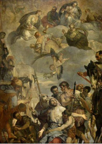 The Martyrdom of St George | Veronese (Paolo Caliari) | oil painting