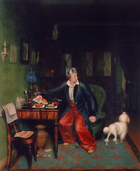Aristocrat's Breakfast 1849 51   Pavel Fedotov   oil painting