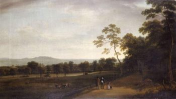 View in Mount Merrion Park | William Ashford | oil painting