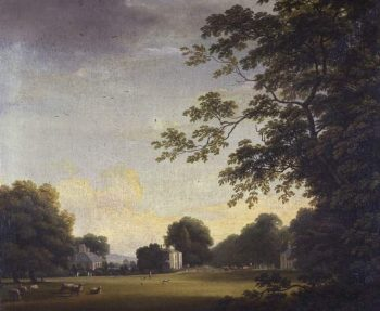 View in Mount Merrion Park02 | William Ashford | oil painting