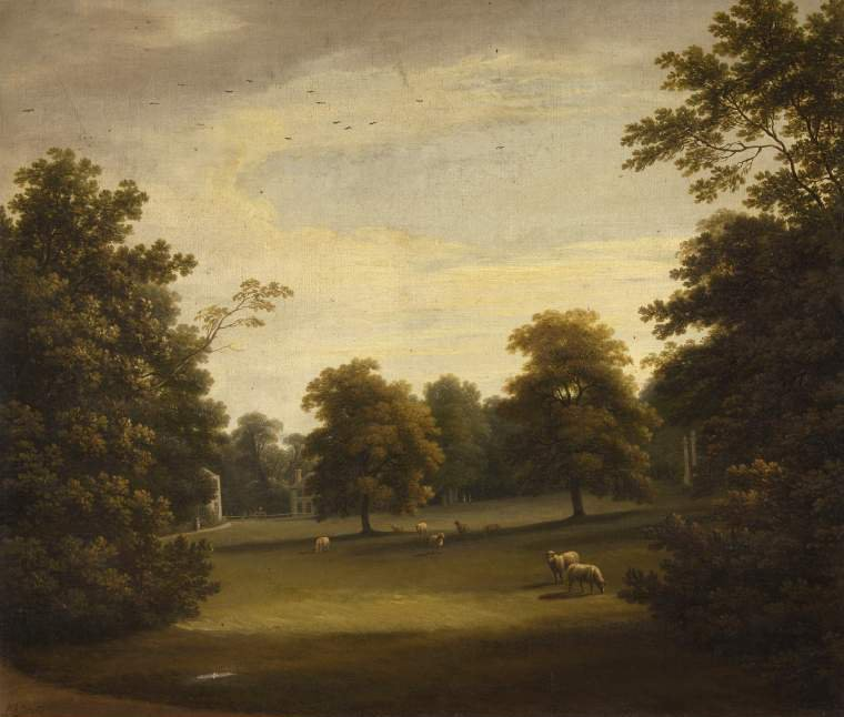 View in Mount Merrion Park04 | William Ashford | oil painting