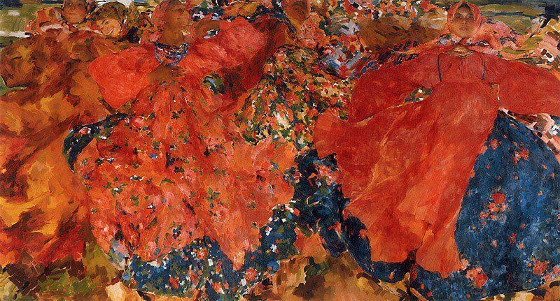 The Whirlwind 1906 | Philipp Malyavin | oil painting