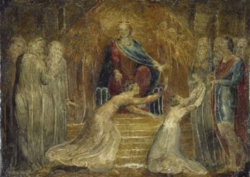 The Judgement of Solomon | William Blake | oil painting