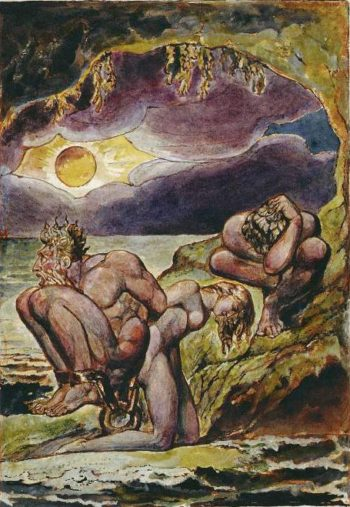 Visions of the Daughters of Albion | William Blake | oil painting