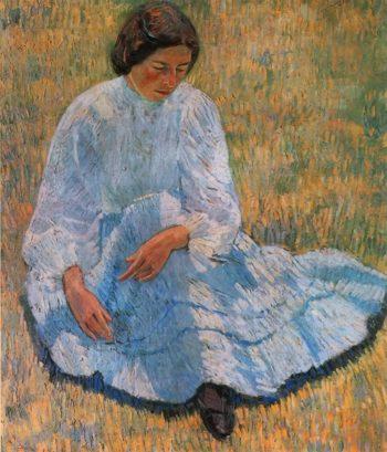Lisa in the Sun 1907 | Robert Falk | oil painting