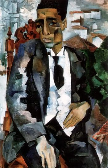 Portrait of M Refatov 1925 | Robert Falk | oil painting