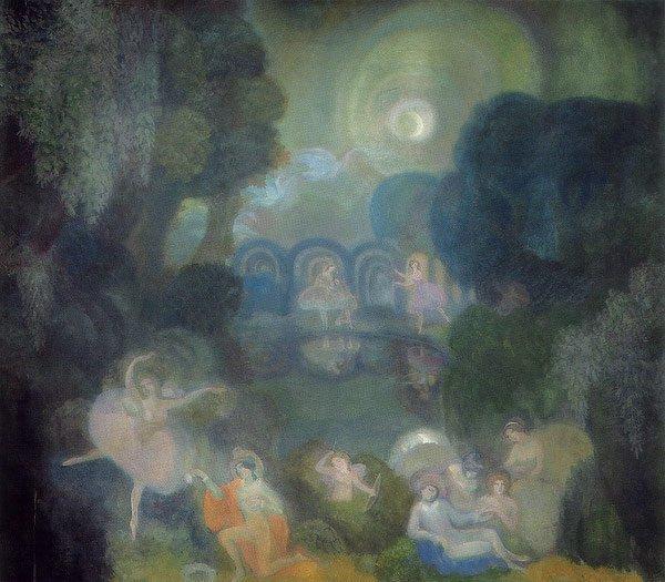 Ballet 1910 | Sergey Sudeikin | oil painting