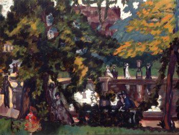 Park 1910s | Sergey Sudeikin | oil painting