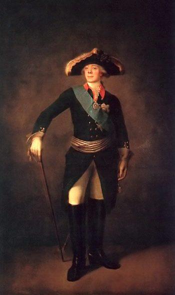 Portrait of Paul I 1797 | Stepan Shchukin | oil painting
