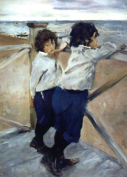 Children 1899 | Valentin Serov | oil painting