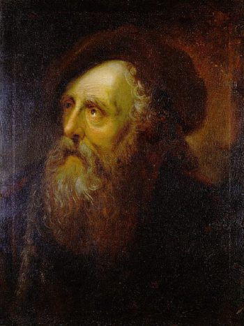 Portrait of an Old Jew | Antoine Pesne | oil painting