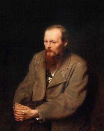 Portrait of Fyodor Dostoevsky 1872 | Vasily Perov | oil painting