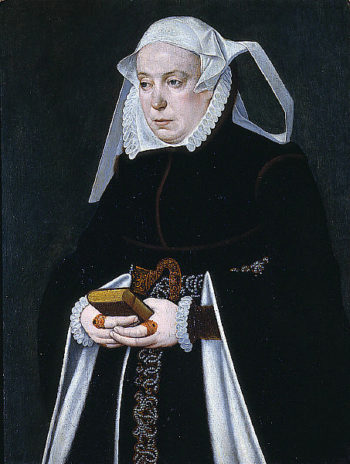 Portrait of a Woman | Barthel Bruyn the Younger | oil painting