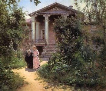 Grandmother's Garden 1878 | Vasily Polenov | oil painting