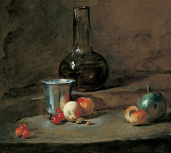 The Silver Goblet | Chardin | oil painting