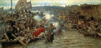 Yermak's Conquest of Siberia 1895 | Vasily Surikov | oil painting