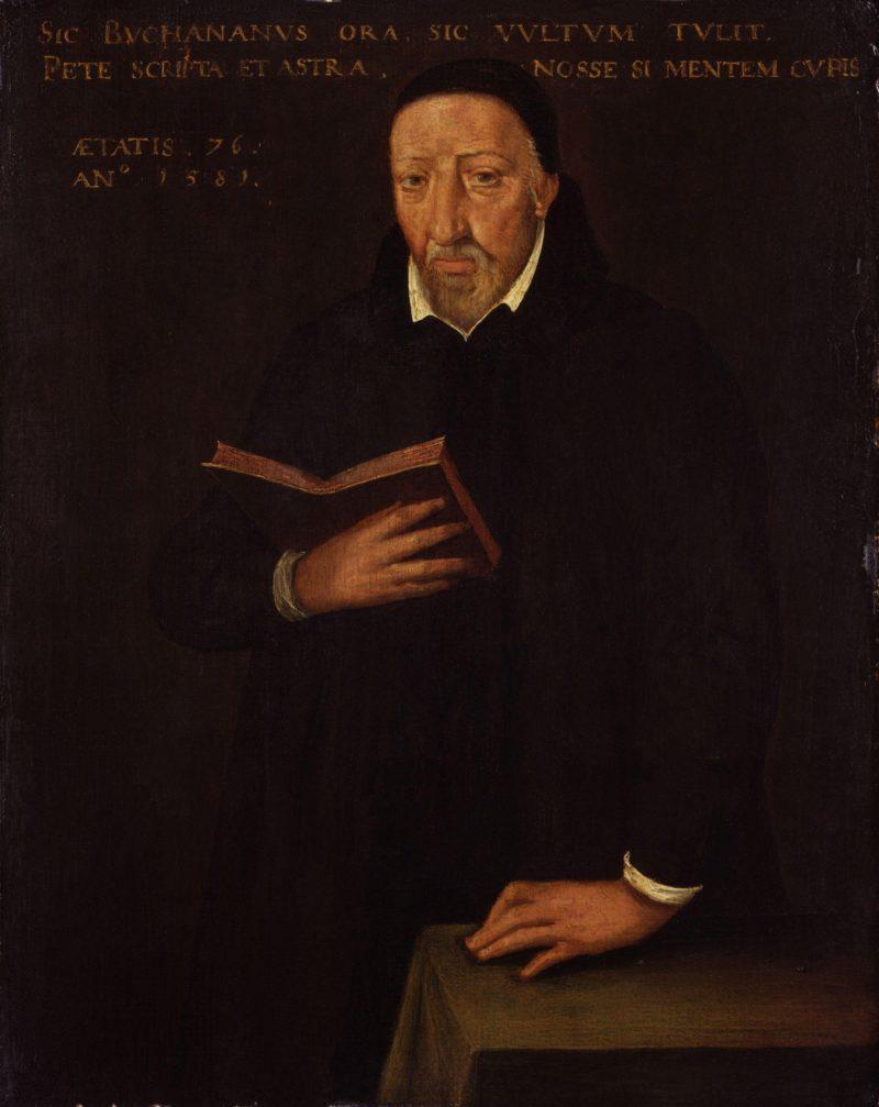George Buchanan | Arnold van Brounckhorst | oil painting
